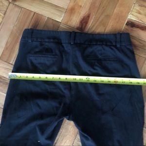 J. Crew Pants - J Crew Black Stretch Twill Minnie Side Zip Pants
